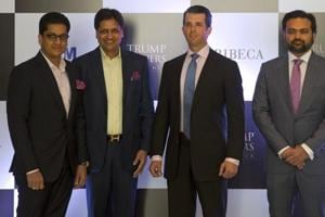 Donald Trump Jr. arrives in India to help sell apartments