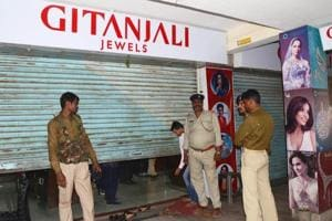 PNB fraud case: Gitanjali Gems' Hyderabad employees stage protest...