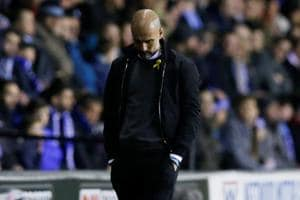 Pep Guardiola looks to League Cup after shock loss to Wigan Athletic...