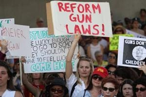 Students head to Florida capital to press lawmakers for gun law change