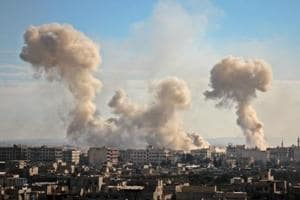 Photos: At least 250 killed in 48 hrs outside Damascus, UN issues...