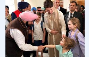 In pics: Justin Trudeau pays obeisance at Golden Temple, meets...