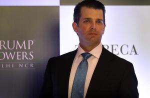 Trump Jr in India describes father as 'incredible visionary'