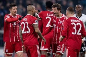 Bayern Munich romp home in UEFA Champions League first leg vs Besiktas