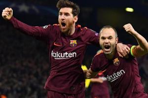 Lionel Messi strikes to give FCBarcelona edge vs Chelsea FC...