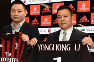 AC Milan owner Li Yonghong dismisses bankrupt reports as 'fake news'