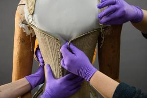 Photos: Queen Elizabeth I's funeral corset comes to life at New...
