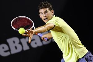 Dominic Thiem keeps title defence on track, Gael Monfils saves match...