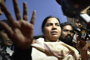 Rohith Vemula's mother accepts Rs 8 lakh compensation from University...