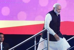 Official's enthusiasm over being part of Modi event triggers security...