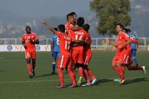 Aizawl FC set to face stiff challenge from gritty Indian Arrows in...
