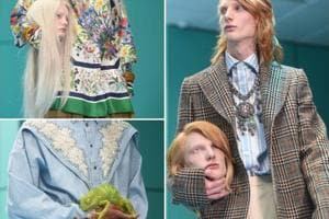 Milan Fashion Week: Gucci's 'operating room' runway featured fake...