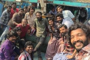 Dhanush and Vetrimaaran wrap up shoot for part one of Vada Chennai