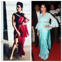 When saris make for a sorry sight: Fun fusion or just plain weird?