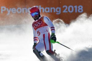 Austria's Marcel Hirscher crashes out of Pyeongchang 2018 Winter...