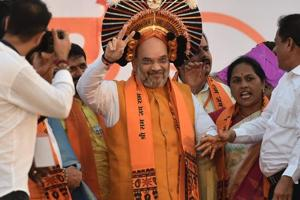 Forget candidate, ask for votes in name of Modi, BJP: Amit Shah tells...