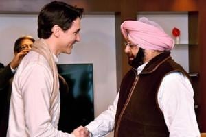 Punjab CM Amarinder Singh gives Canada PM Justin Trudeau list of 9...