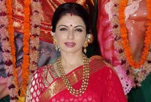 Two held for trying to kill Bollywood actress Bhagyashree's in-laws in...