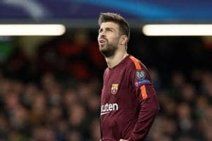 Barcelona's Gerard Pique escapes punishment for taunting Espanyol in...