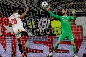 Champions League: David De Gea shuts out Sevilla as Manchester United...