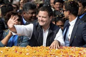 Rahul Gandhi to release Congress manifesto in March