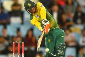 South Africa wicketkeeper Heinrich Klaasen was quite comfortable...