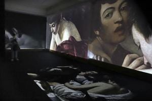 Quite an experience: 'Fortune Teller' anchors Caravaggio installation...