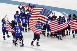 Pyeongchang 2018 Olympics: USA claim women's ice hockey gold to end...