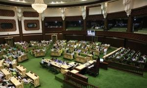 The assembly was shifted to the new premises in 2001. An MLA says that since then, all 200 MLAs have never been alive in any of the assembly terms.