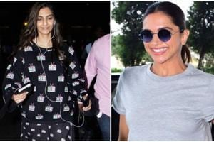 Recreate Deepika Padukone and Sonam Kapoor's easy airport looks for...