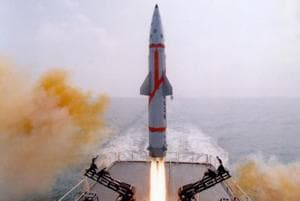 Dhanush ballistic missile successfully test-fired from naval ship off...
