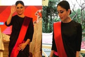 Kareena Kapoor effortlessly aced ethnic wear in chic black saree at...