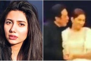 Mahira Khan reacts to viral video in which she flinches away from...