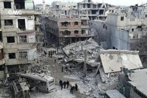 Five-day assault on Syria enclave by government forces kills more than...