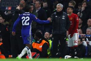 Willian puts Jose Mourinho friendship aside for Manchester...