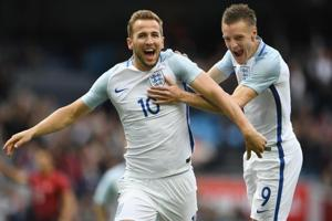 Claude Puel backs Jamie Vardy, Harry Kane to flourish together for...
