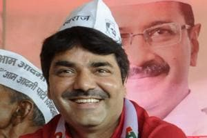 AAP MLA Naresh Balyan booked for 'inflammatory' remarks against govt...