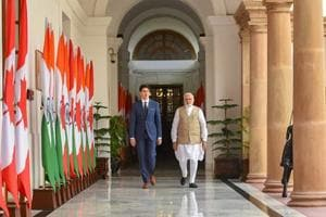 With Trudeau by his side, Prime Minister Modi speaks of primacy of...