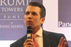 Trump Jr drops planned Indian policy speech, instead talks of family,...