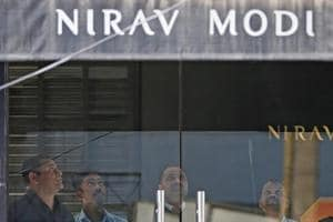 Employees of Nirav Modi's firms in Surat SEZ protest, demand payment...