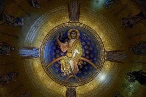 Giant 40 ton mosaic unveiled in world's second largest Orthodox church