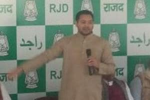 Nitish Kumar govt conspiring to poison my food: Tejashwi Yadav