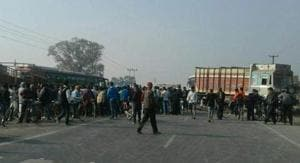 Medicine trader killed in Bihar's Vaishali, road blocked in protest