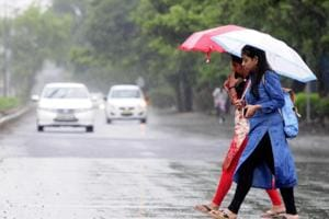 Rain gods send relief: Chandigarh gets light rain