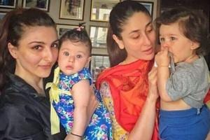 Kareena Kapoor's son Taimur Ali Khan is carpooling with cousin Inaaya...