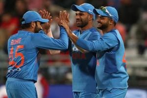 India edged out South Africa by 7 runs in the third and final T20 to clinch the three-match series 2-1. Get full cricket score of India vs South Africa, 3rd T20, Newlands, Cape Town, here.