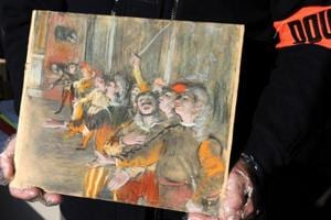 Stolen Edgar Degas painting, worth over Rs 6 crore, found inside bus...