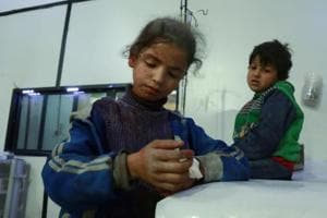Air strikes batter Syria's Ghouta, rescuers say cannot keep up with...