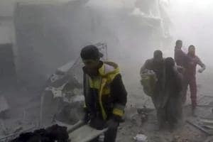Death toll in weeklong Syria airstrikes tops 500, including 127...