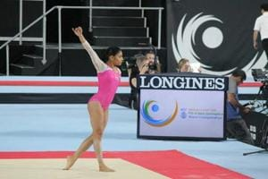 Aruna Budda Reddy finishes 7th in floor event at Gymnastics World Cup